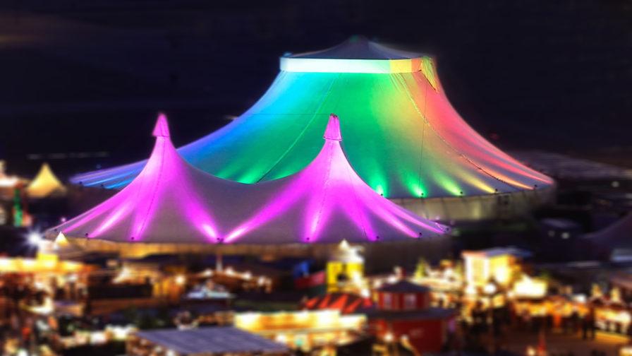 Tollwood Winterfestival - Grand Chapiteau