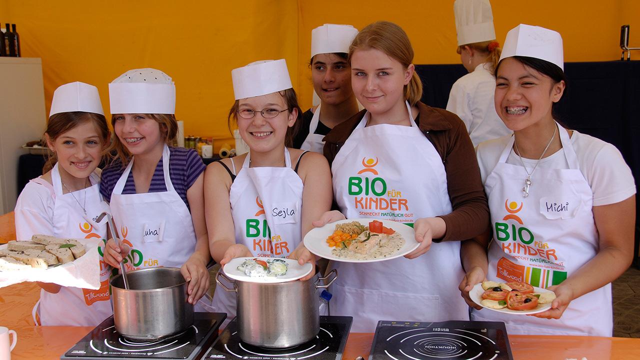 Bio für Kinder Kochkurs Juli 2007