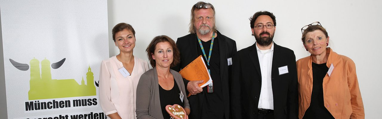 Paulina Simkin, Stephanie Weigel, Dr. Gerd-Ludwig Meyer, Dr. Tobias Gaugler und Dr. Anita Idel Pressekonferenz