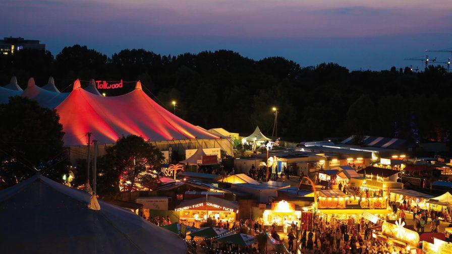 Ansicht Tollwood Sommerfestival