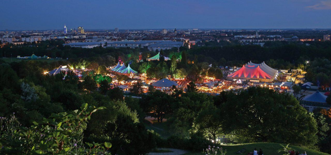 Überblick Tollwood Sommerfestival