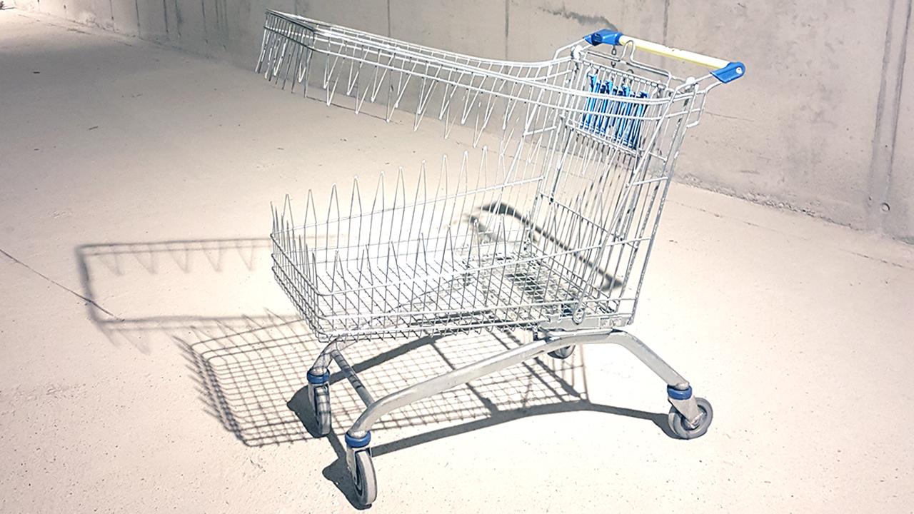 Torsten Mühlbach und Bruno Wank Shopping Mall