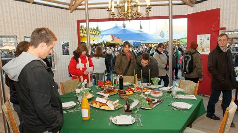 Aufgetischt-Pavillon Winterfestival 2011