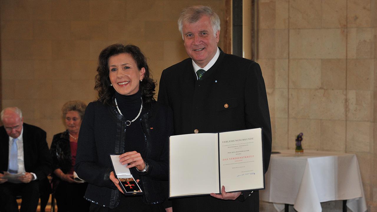 Verleihung Bundesverdienstkreuz