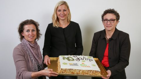 Stephanie Weigel, Stephanie Jacobs und Beatrix Zurek