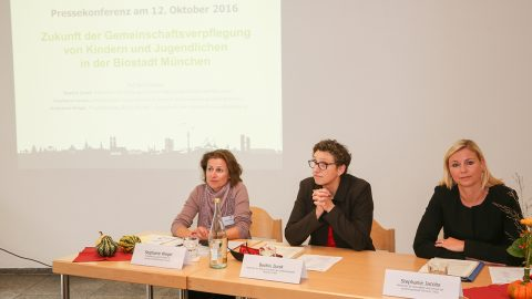 Stephanie Weigel, Beatrix Zurek und Stephanie Jacobs