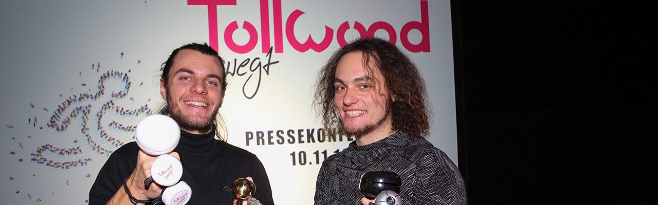 DJ Nego Yokte und Julian Gamisch Pressekonferenz