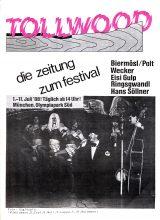 Magazintitel Tollwood Sommerfestival 1988
