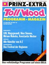 Magazintitel Tollwood Sommerfestival 1991