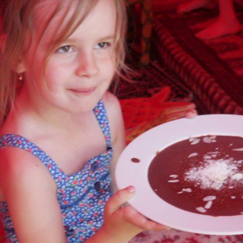 Kakaobohne und Kinderrechte