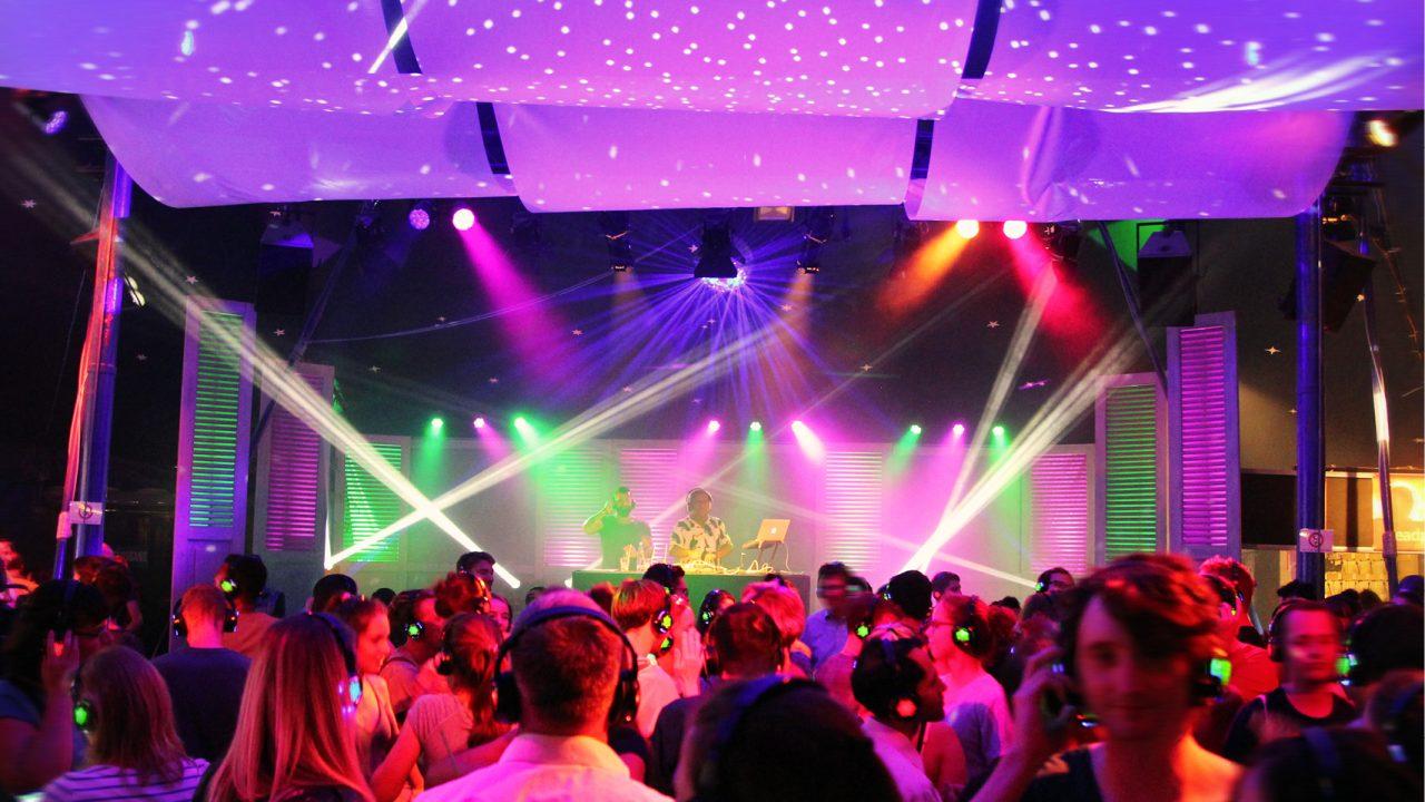 Silent Disco Half Moon Bar Tollwood Festival