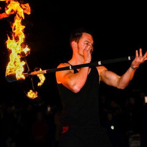 Faszination Feuershow Tollwood Muenchen Performances