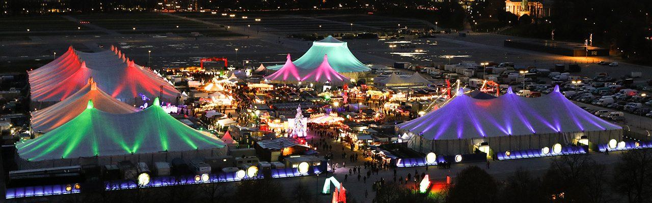 Tollwood Winterfestival Festivalansicht