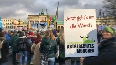Aktionsbuendnis Artgerchtes Muenchen Demo Berlin 2018