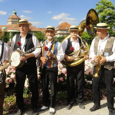 Isar Dixie Stompers Andechser Zelt Tollwood Sommerfestival 2018