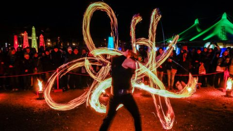 Faszination Feuershow Tollwood