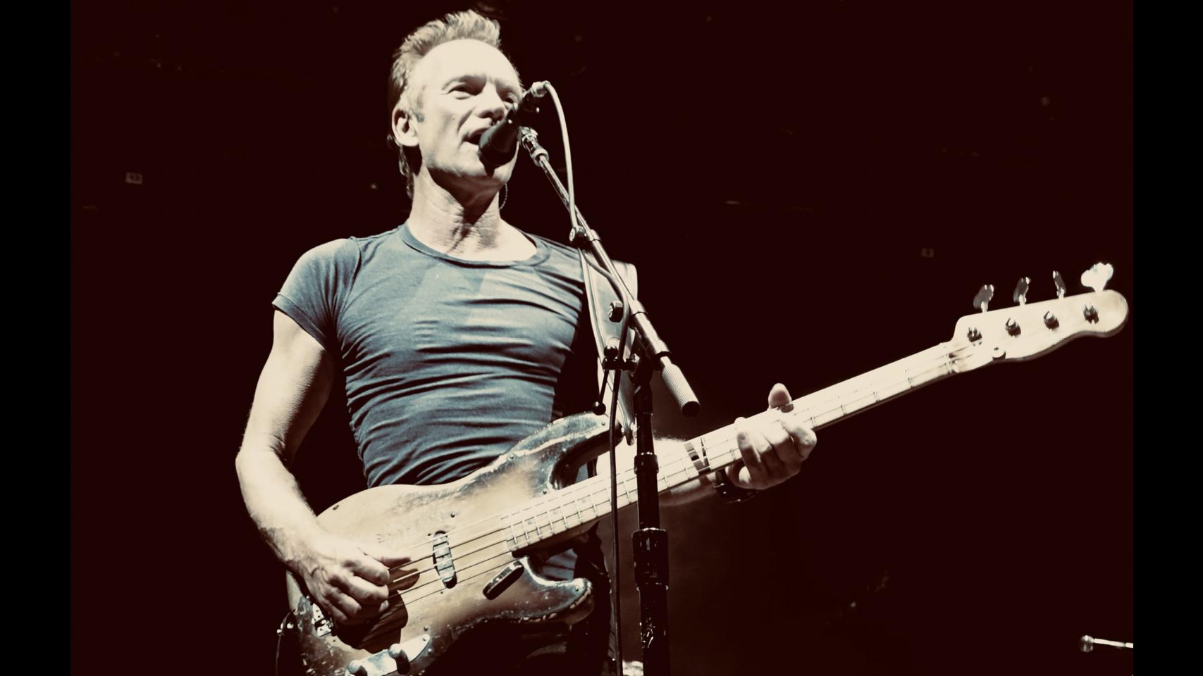 Sting auf Tollwood Sommer 2019