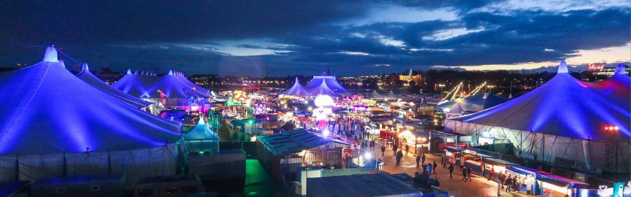 Das Tollwood Festival am Tag der Menschenrechte