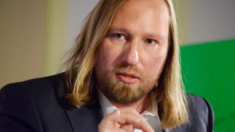 Referent Toni Hofreiter Fraktionsvorsitzender im Deutschen Bundestag / B90 / Die Grünen