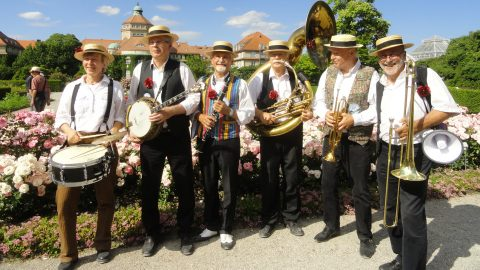 Isar Dixie Stompers Tollwood Sommerfestival 2019 Andechser Zelt