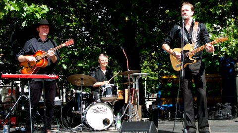 Swing Out West Fassbar Konzert Veranstaltung