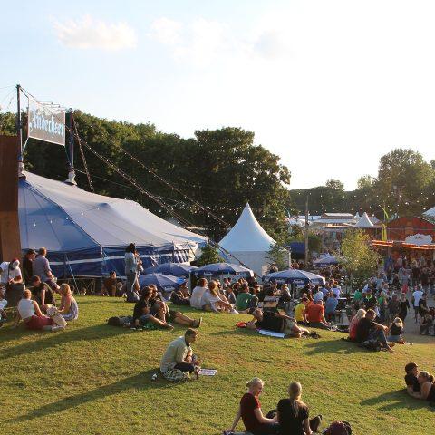 Andechser Zelt auf dem Tollwood Sommerfestival 2019