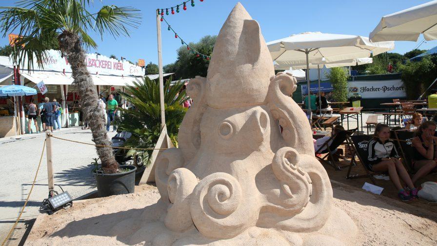 Sandskulpturen Sommer 2019 Tollwood