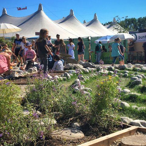 Barfusspfad Tollwood Festival