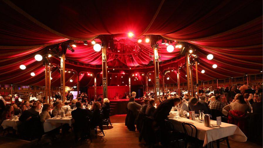 Veranstaltungsort Spiegelzelt Tollwood Winterfestival München