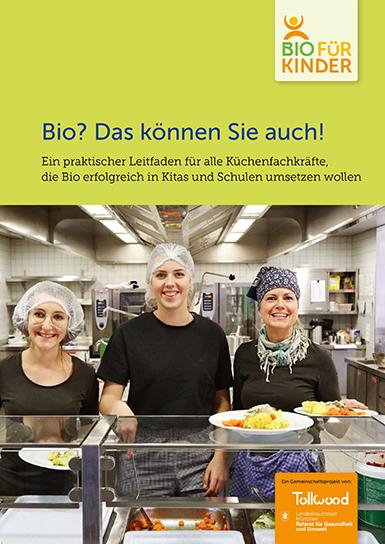 Bio-für-Kinder Broschüer für Küchenfachkräfte