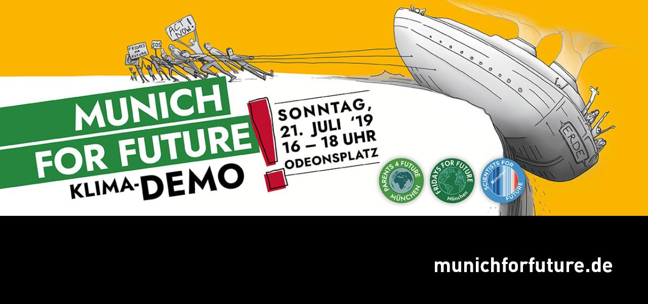 Klima-Demo in München