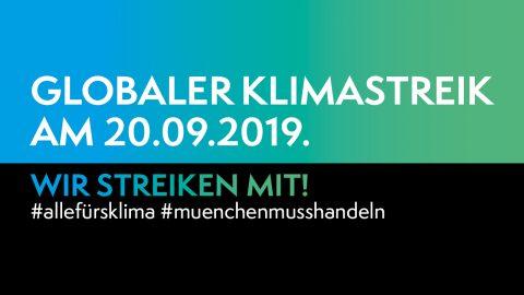 Globaler Klimastreik 20.9.