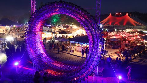 Festivalansicht The Loop Tollwood Sommerfestival 2019