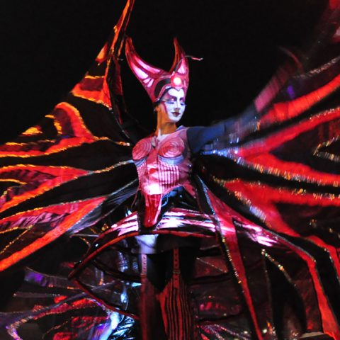 Close ActTheatre Coloured Wings Performances Tollwood Winterfestival 2019