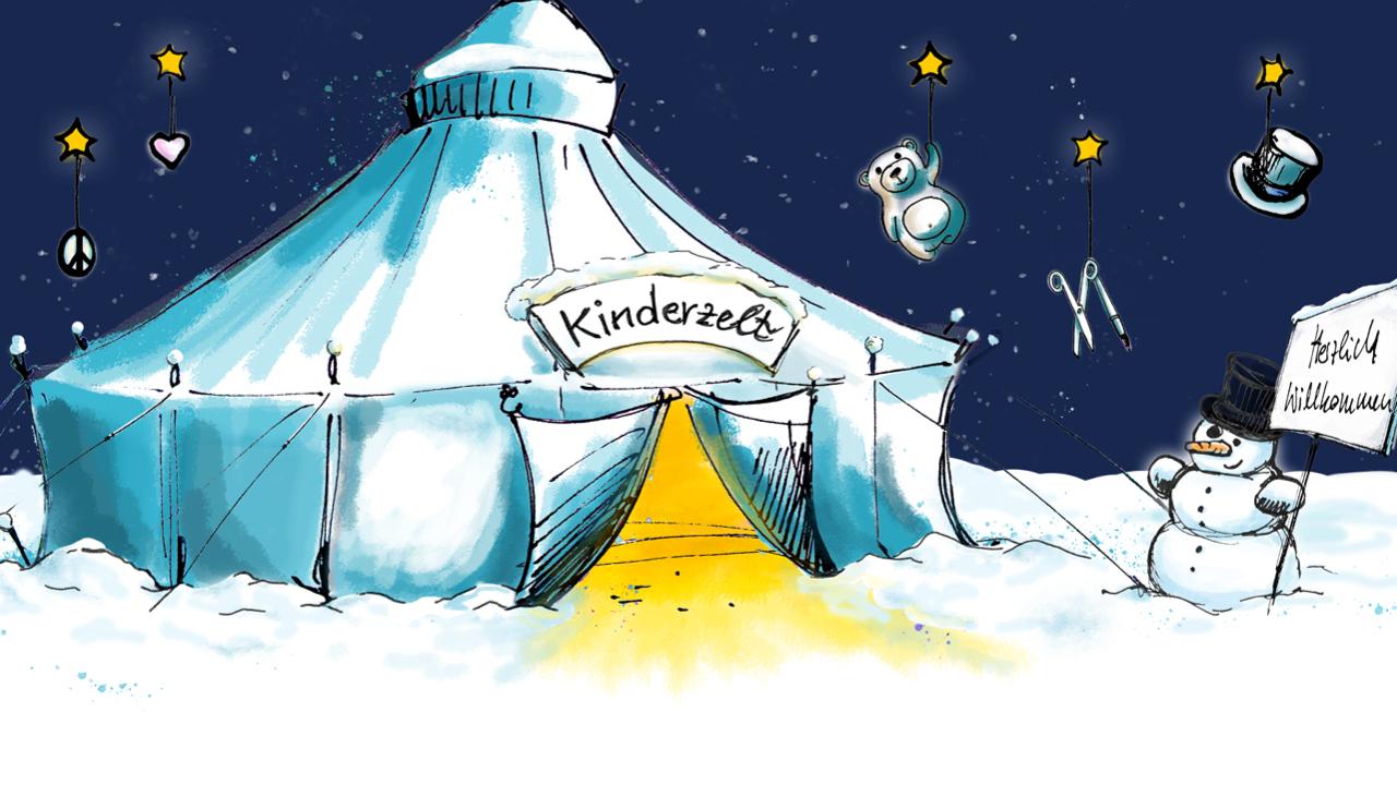 Veranstaltungsort Kinderzelt Programm Fur Kinder Auf Tollwood