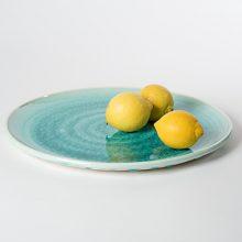 Seegras Platte Schüler Keramik