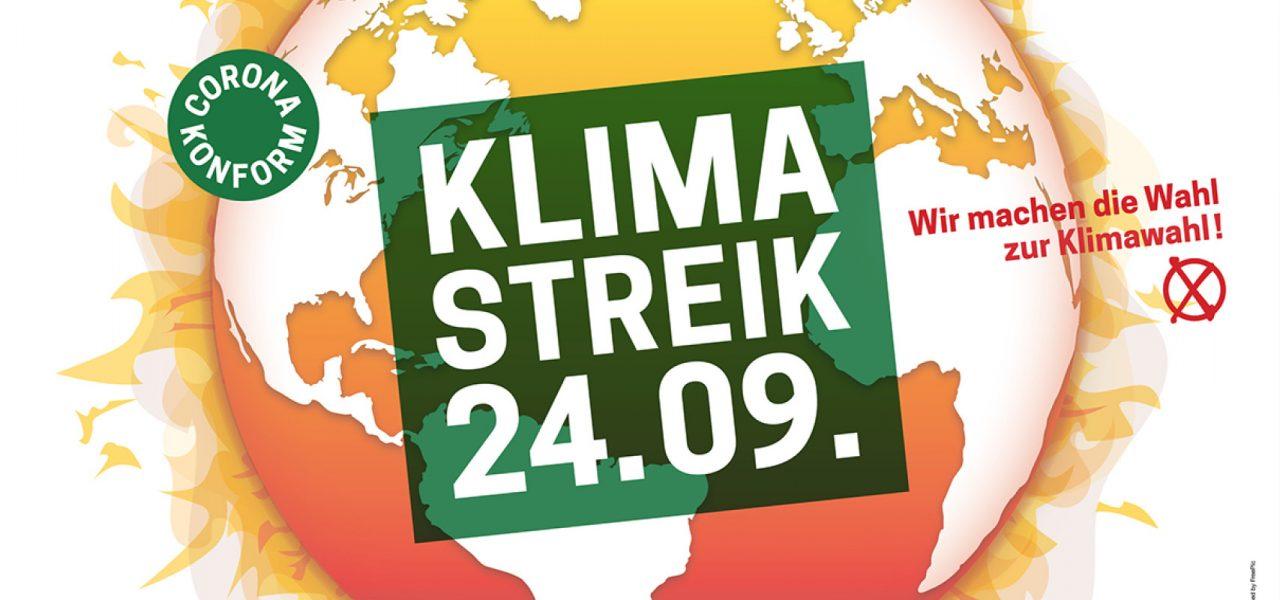 Fridays for Future Klimastreik 24.09.2021